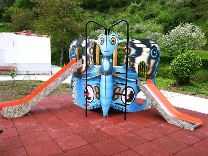 Finalizadas las obras de rehabilitación del entorno y Parque Infantil de Pivierda