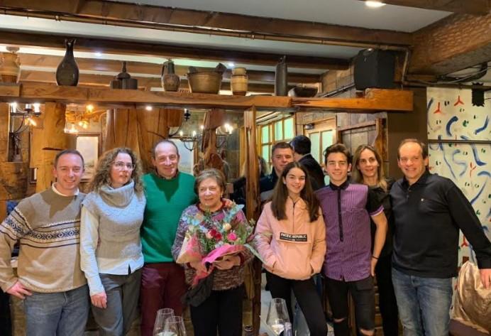 Acosevi homenajea a la matriarca de Los Caserinos