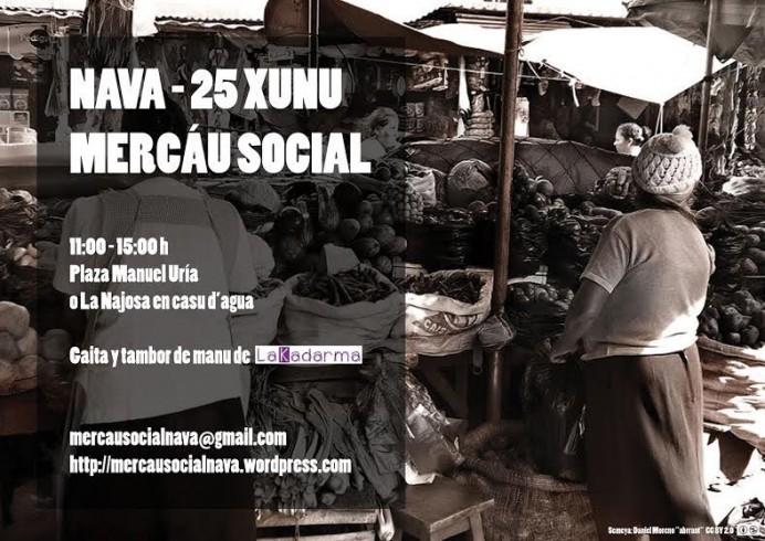 Mercáu Social de Nava