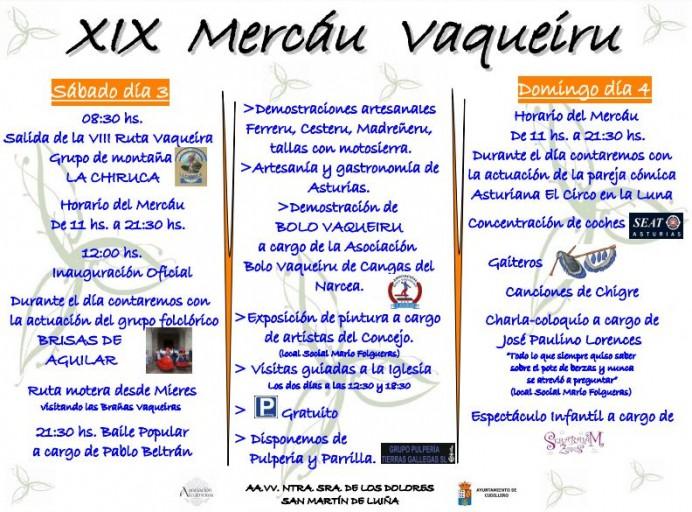 XIX Mercáu Vaqueiru de San Martín de Luiña en Cudillero