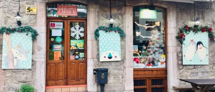Muniama ganador del concurso de escaparates navideños