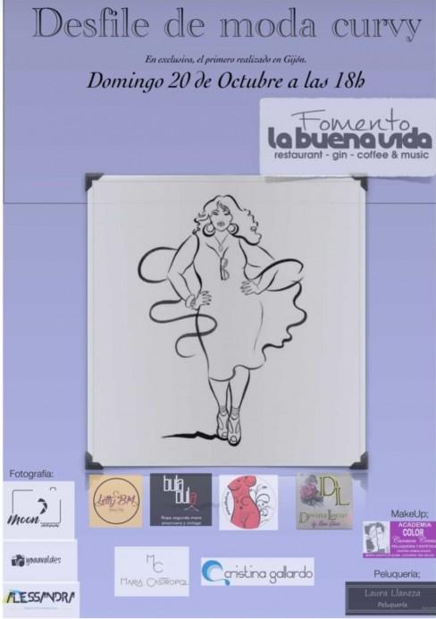 Primer desfile de moda curvy en Asturias