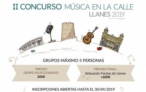 Llanes, abiertas Inscripciones II Concurso Música en la Calle