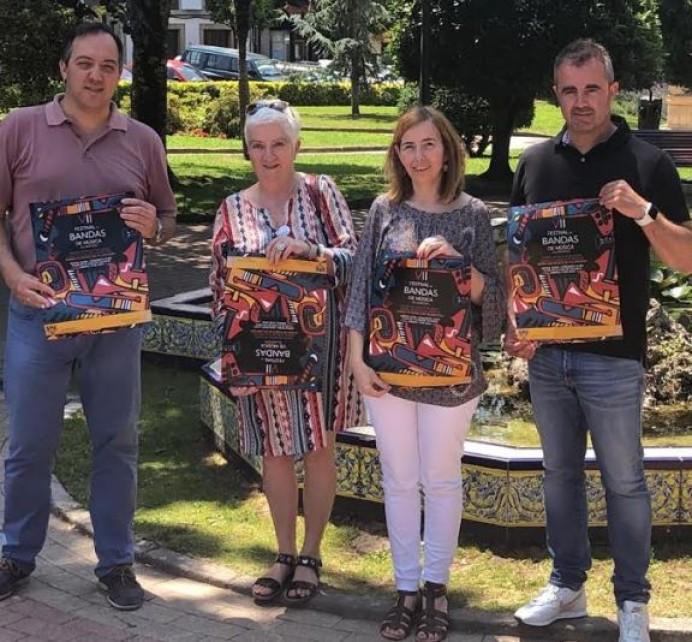 Más de cien músicos en el Festival de Bandas de Música de Villaviciosa que se celebrará este sábado