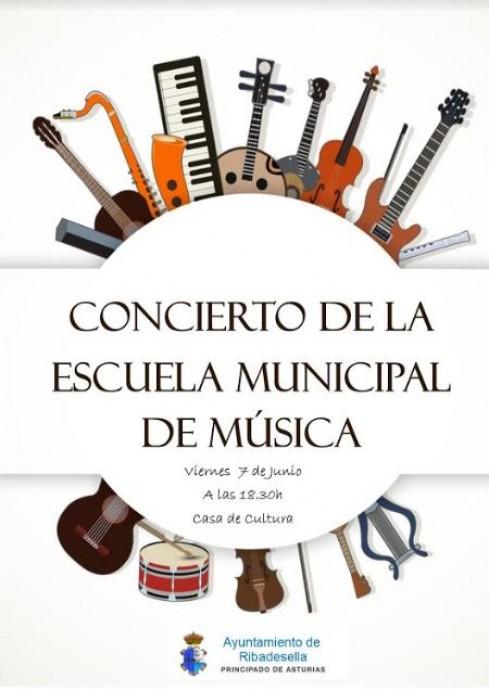 Concierto Fin de Curso Escuela Municipal de Música