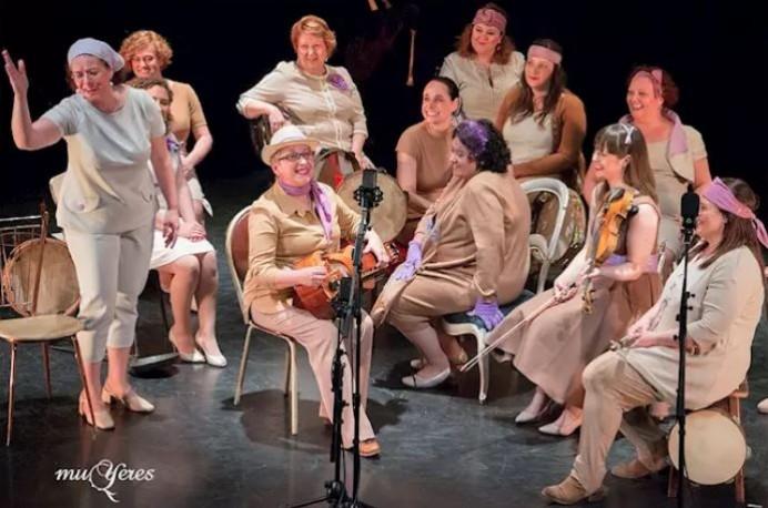 El colectivu musical Muyeres estrena'l so nuevu proyectu, Humanes, el 11 de xineru nel Teatru de la Llaboral