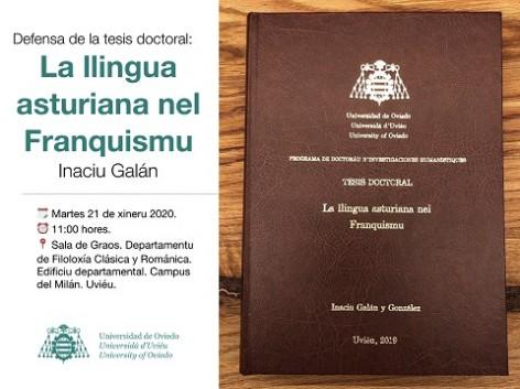 Una tesis doctoral estudia la situación de la llingua asturiana nel Franquismu