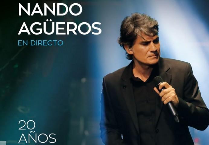 Nando Agüeros lanzará el 28 de Noviembre un disco de grandes éxitos