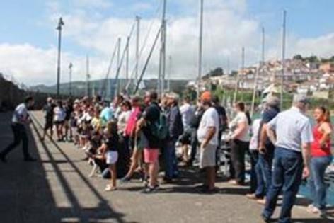 Lastres homenajea a los peregrinos náuticos de Navega Camino