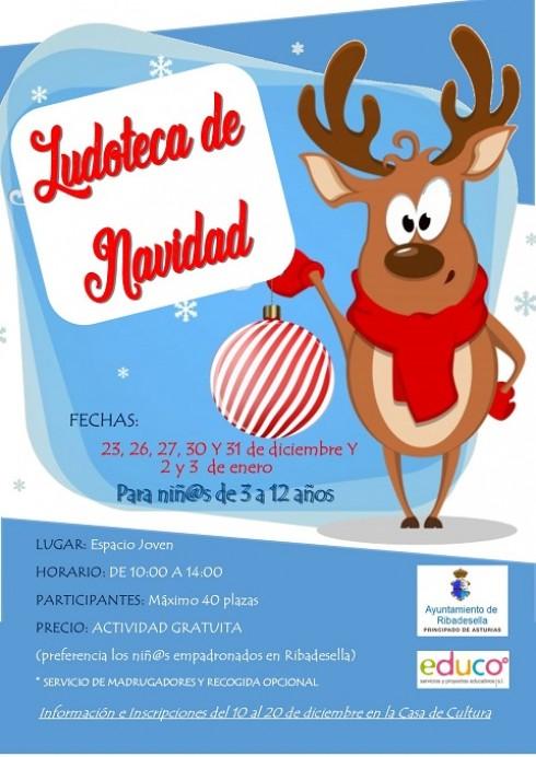 Ludoteca de Navidad en Ribadesella