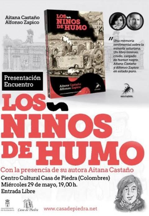 Presentación de Los niños de humo. De Aitana Castaño y Alfonso Zapico