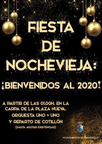 Fiesta de Nochevieja en Ribadesella: ¡BIENVENIDOS AL 2020!