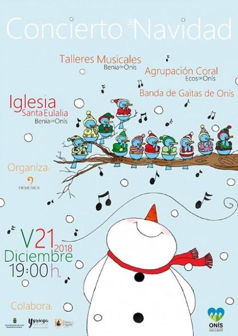 Concierto de Navidad en Benia de Onís