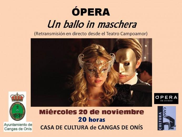 Actividades culturales previstas en Cangas de Onís para los próximos días