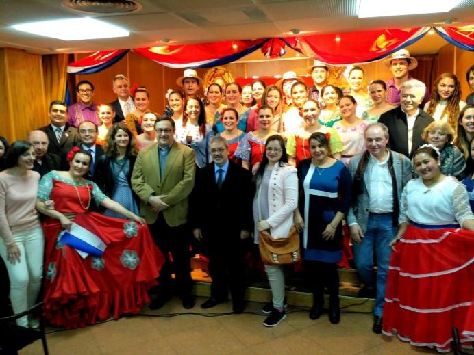 Noche Paraguaya en el Centro Asturiano de Madrid