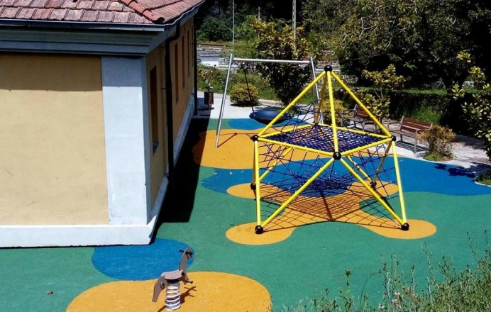 Parque Infantil de Vidiago, agradecimiento niños