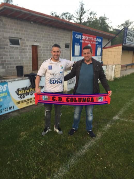 Pascual, volverá a jugar otra temporada más con la camiseta del C.D.Colunga