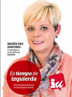 Paz sanchez será la candidata de IU Asturias a la alcaldía de Caravia.