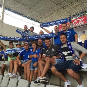 La Peña Azul Naveta agota sus plazas para el viaje a Valladolid