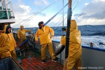 A bordo con los pescadores asturianos