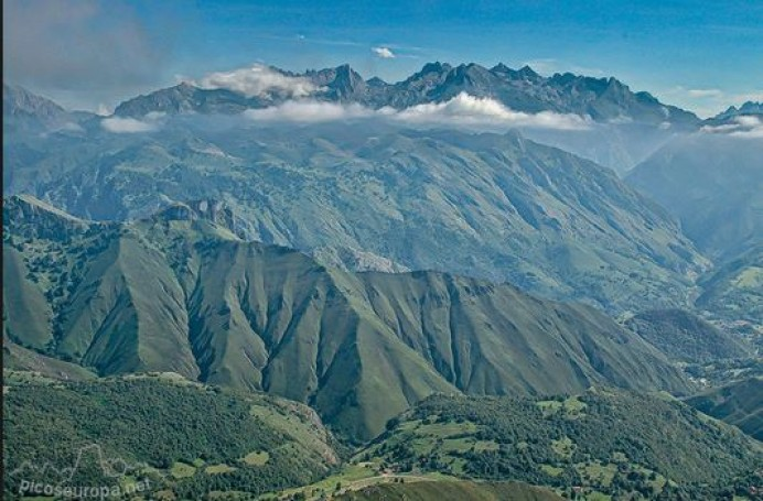 Ruta Pico Turbina desde Arangas (Llanes)