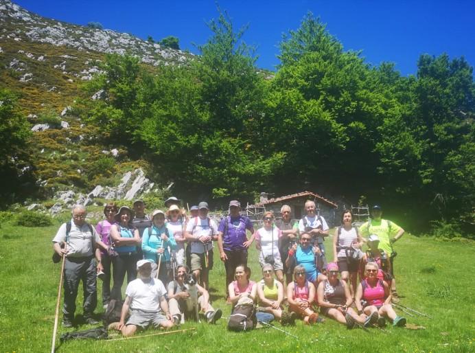 La Huella se va de ruta al Picu La Senda