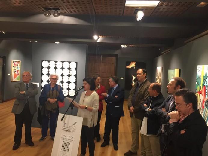 Exposición de obras del XIX Certamen de Pintura Ayuntamiento de Villaviciosa