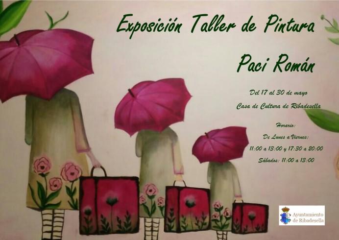 Exposición Taller de Pintura de Paci Román