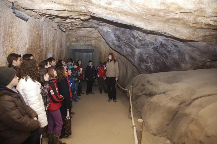 Prehistoria para escolares en Teverga