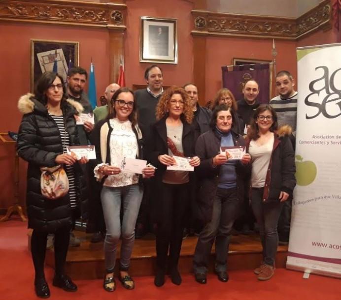 Acosevi entrega los premios del sorteo de los 4000 euros