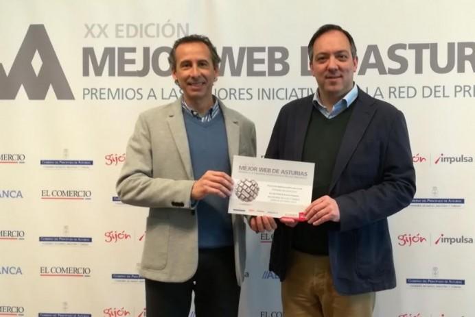 La web turismovillaviciosa.es finalista en el concurso a la Mejor Web de Ocio y Tiempo Libre de Asturias