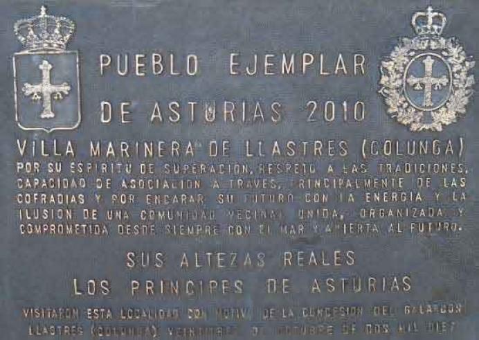 Exposición dedicada a los 29 Pueblos Ejemplares de Asturias, en Cangas de Onís