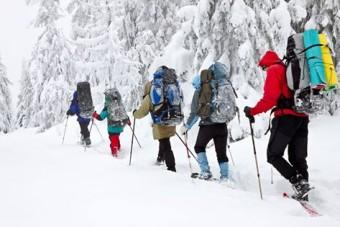 Excursiones en Raquetas de Nieve por los Picos de Europa y el Parque Natural de Ponga.