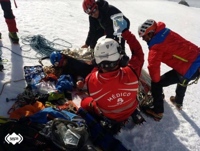 Rescates de montaña en Cabrales
