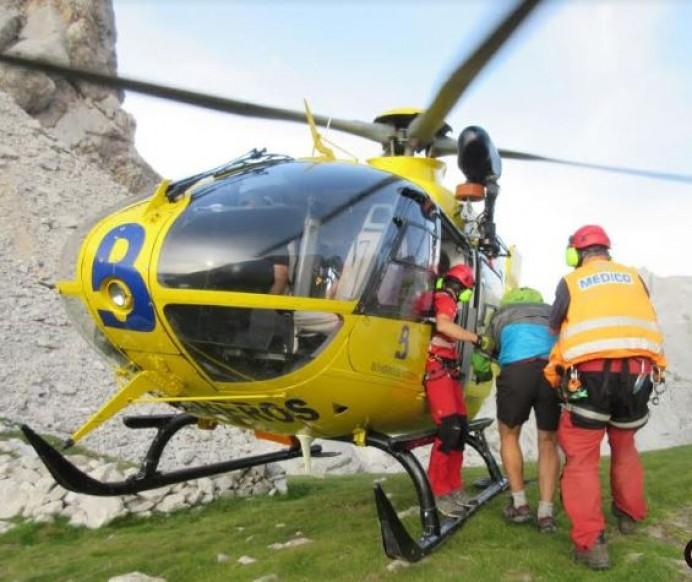 Rescate de montaña en Collada del Agua - Cabrales