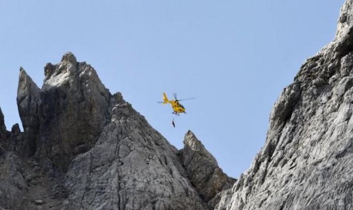 Rescate de montaña en San María de Enol - Cangas de Onís
