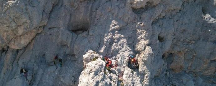 Tres rescates de montaña en Cabrales
