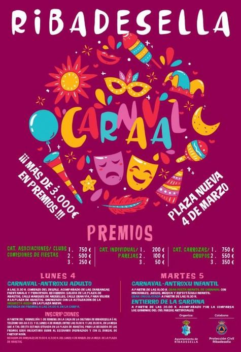 Carnaval 2019 en Ribadesella