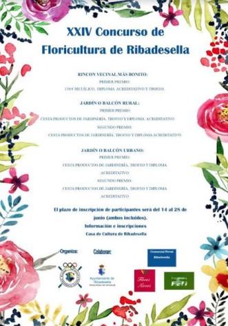 XXIV Concurso de floricultura en Ribadesella