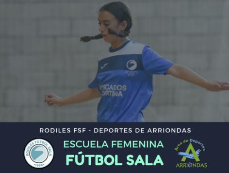 Nueva escuela femenina de fútbol sala - Rodiles FSF