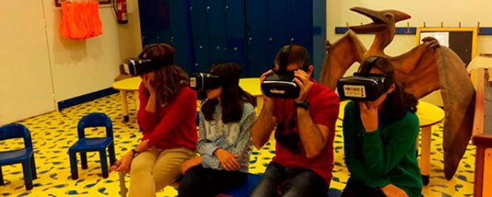 Una ventana al mundo de los dinosaurios con un taller de realidad aumentada del El MUJA