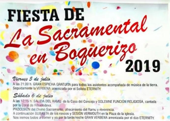Fiestas de La Sacramental en Boquerizo