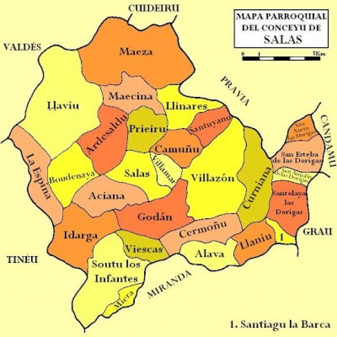 Iniciativa pol Asturianu denuncia'l tratamientu informativu de TPA al procesu d'oficialización de la toponimia de Salas