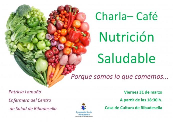 Charla- Café Nutrición Saludable Nutrición Saludable.