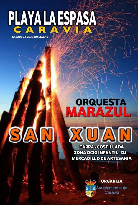 Fiestas de San Xuan 2019 en Caravia