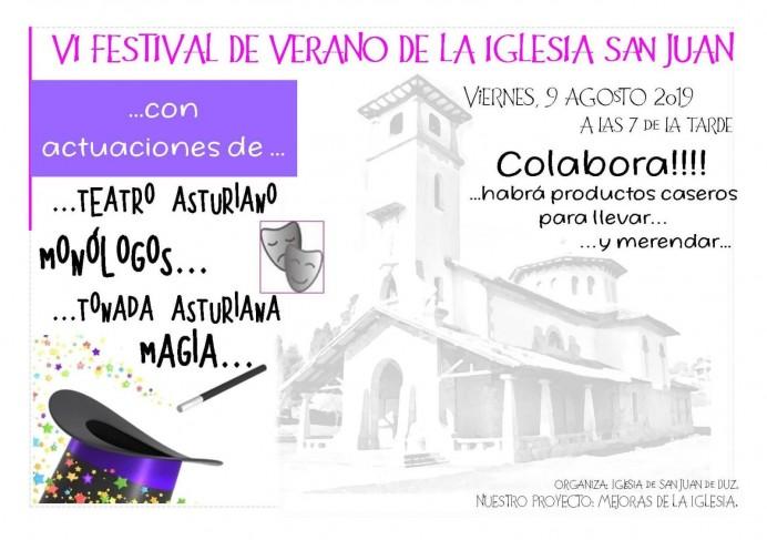 VI Festival de verano de la Iglesia de San Juan