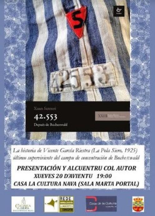 Presentación de la nueva obra de Xuan Santori: 42.553 - Depués de Buchenwald