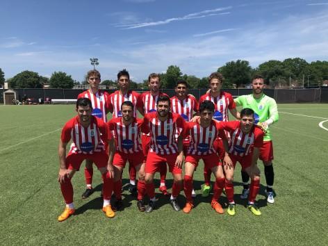 El seleccionado asturiano de fútbol sigue cosechando triunfos en EE.UU.