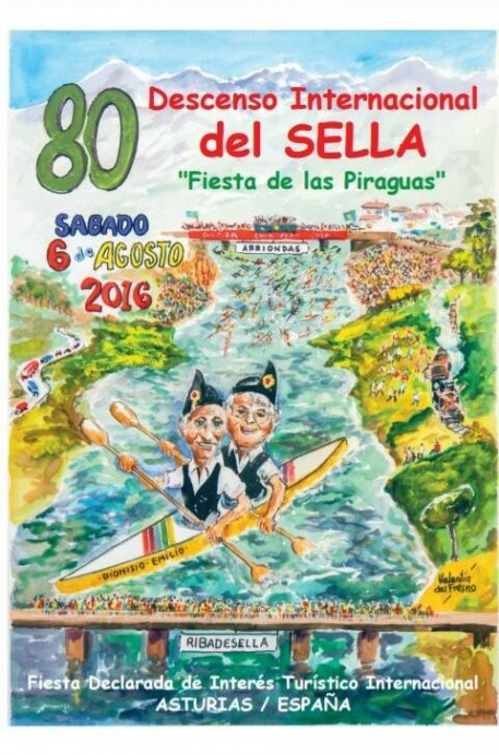 80 Descenso del Sella