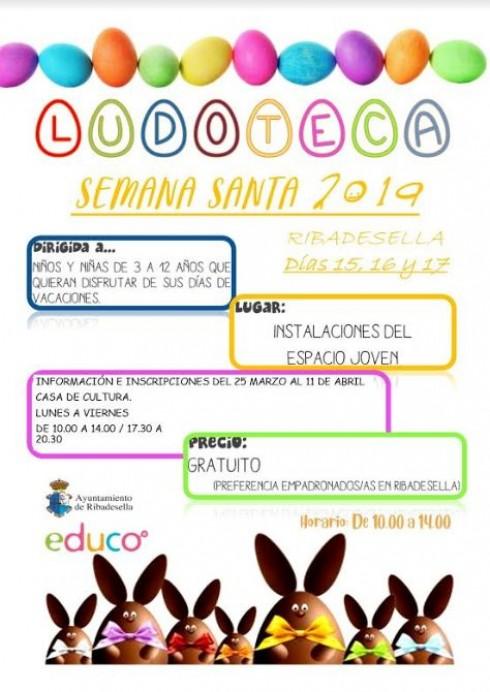 Ludoteca de Semana Santa. Ayuntamiento de Ribadesella